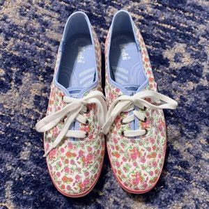 Keds Floral Print Sneakers
